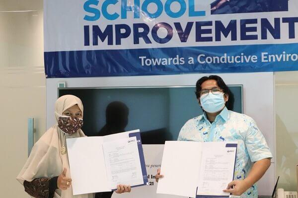 NAMA Foundation dan NICE Indonesia Berikan Bantuan Sarana Pendidikan untuk Sepuluh Sekolah di JABODETABEK
